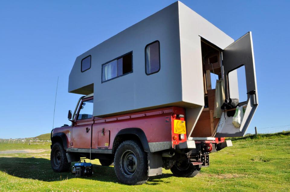 DIY Demountable Camper