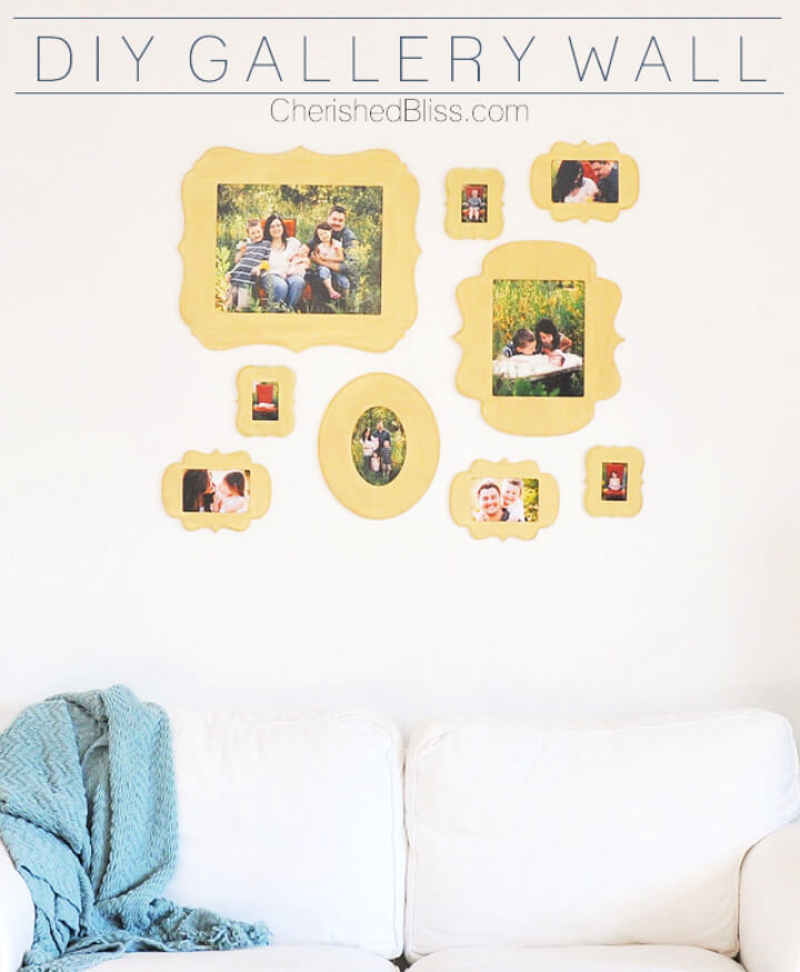 DIY Gallery Wall Cut it Out Frames
