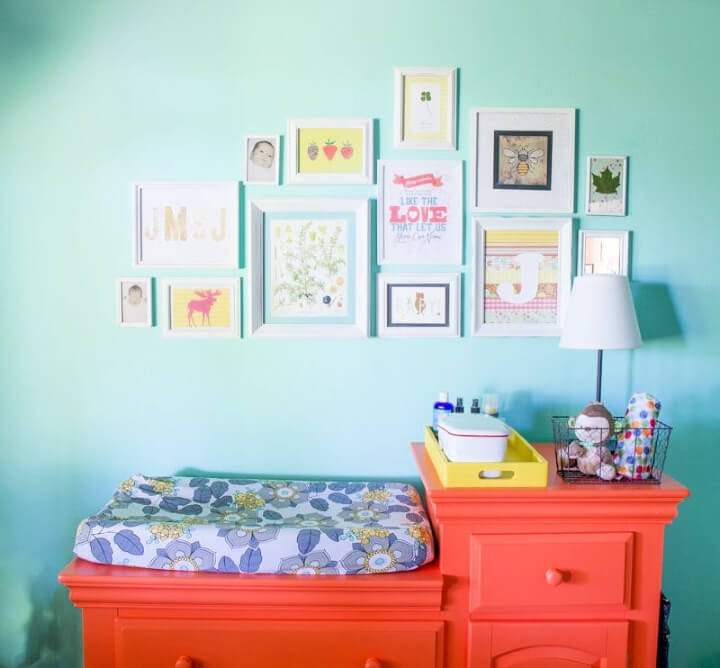 DIY Gallery Wall for Less Than 20