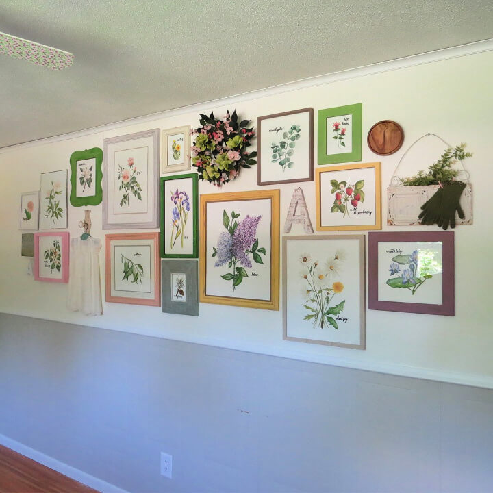 DIY Gallery Wall with Simple Steps