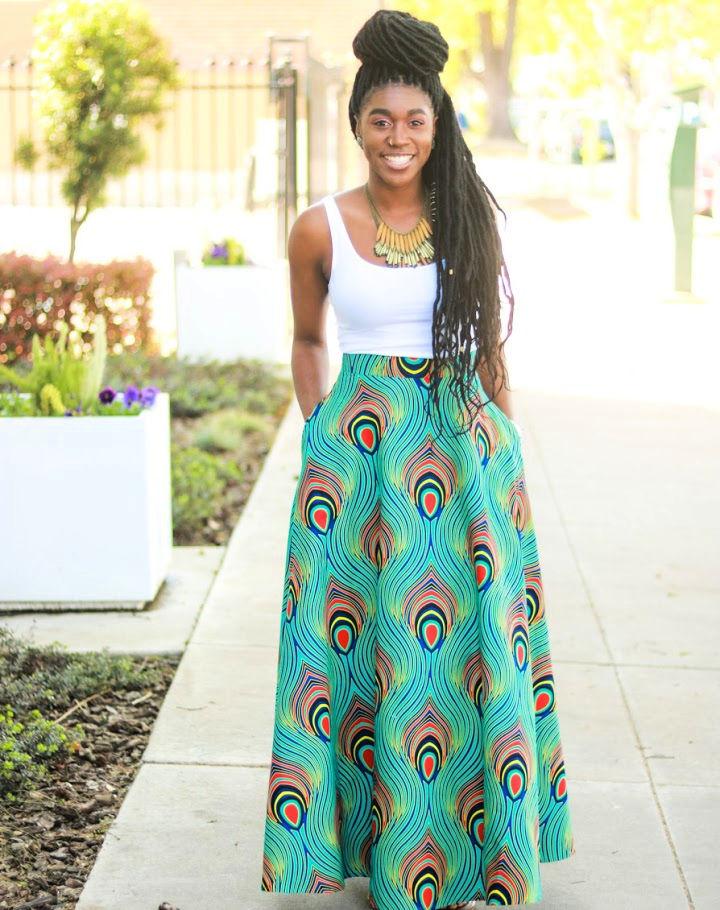 DIY Half Circle Skirt With Pockets