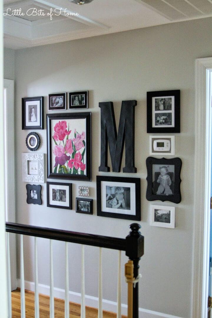 DIY Hallway Gallery Wall