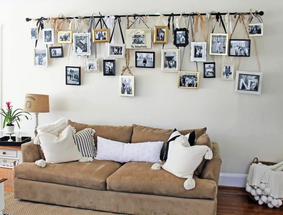 DIY Hanging Gallery Wall
