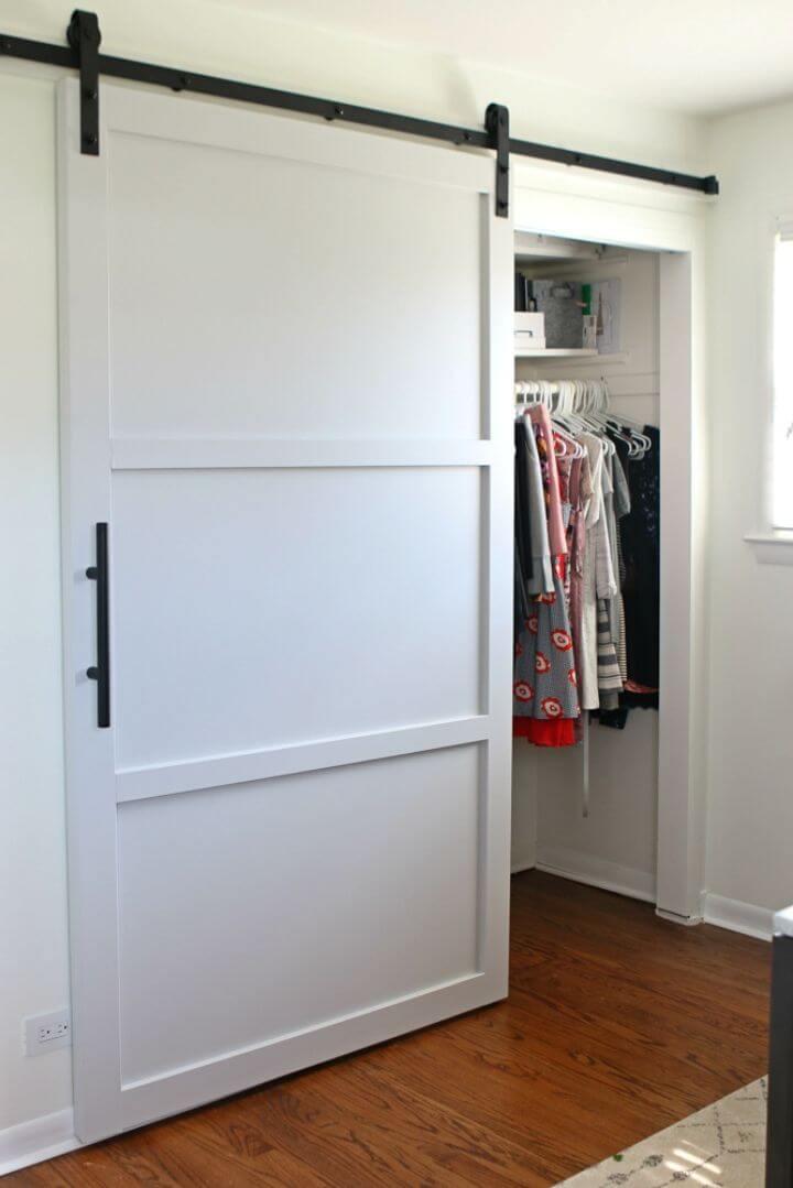DIY Install a Sliding Barn Door