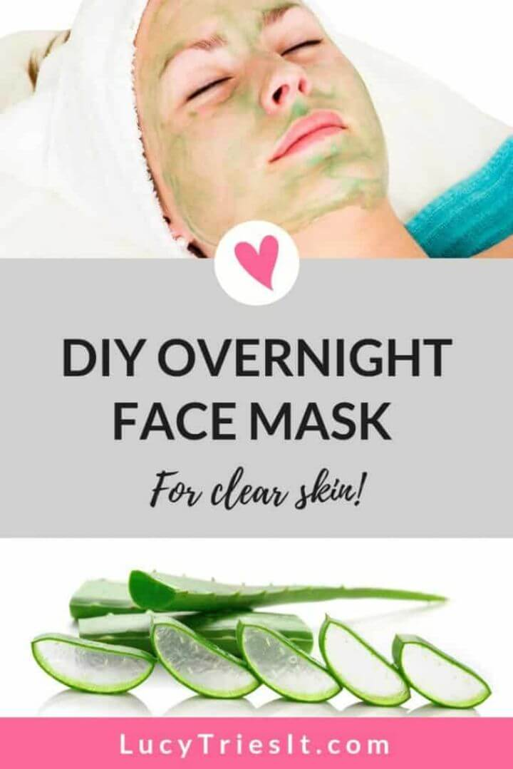 DIY Overnight Face Mask for Acne and Radiant Skin