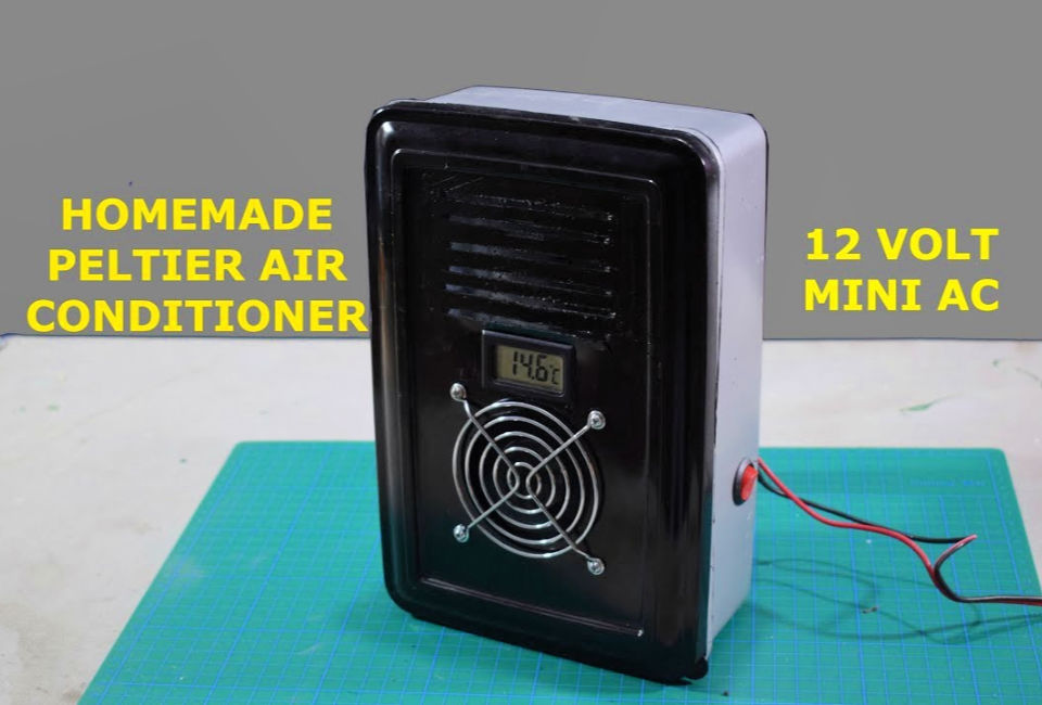 DIY Peltier Air Conditioner