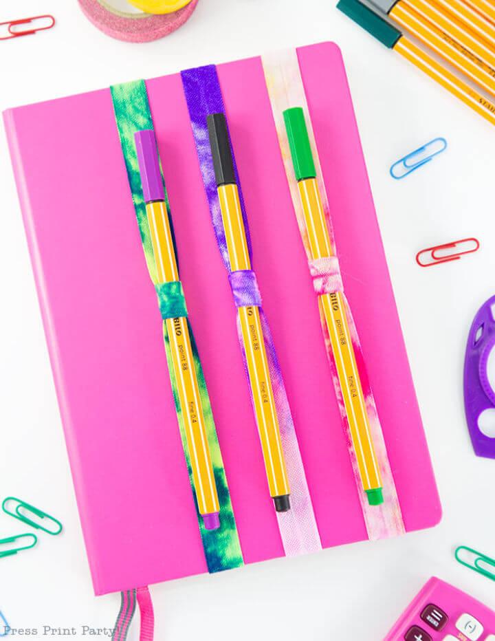 DIY Pen Holder Notebook in 5 Minutes