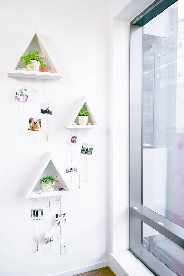 DIY Photo Display Wall
