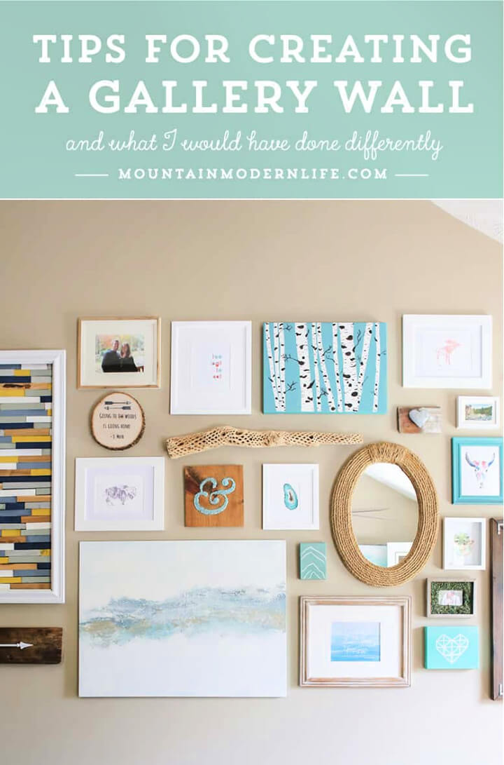 DIY Picture Wall In Your Home