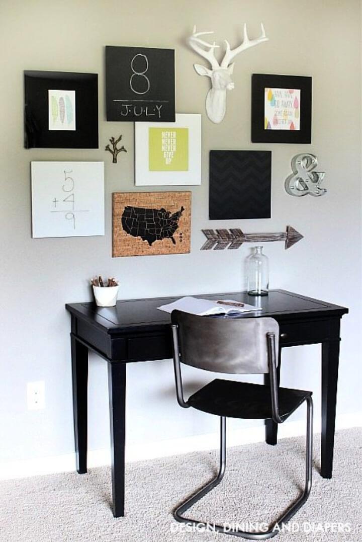 DIY Playroom Gallery Wall