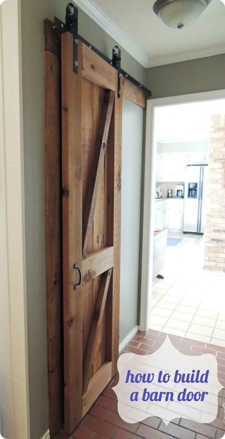 DIY Reclaimed Wood Barn Door