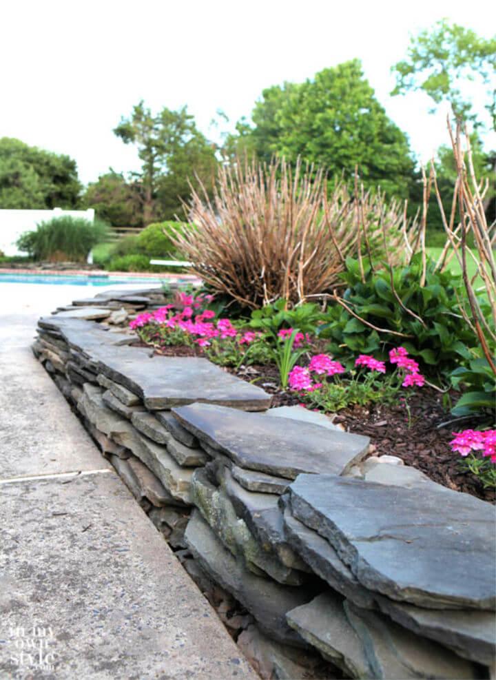 DIY Retaining Wall for Your Garden