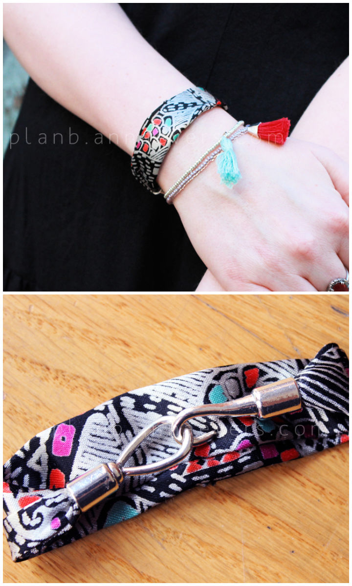 DIY Scrap Bracelet Gift Idea