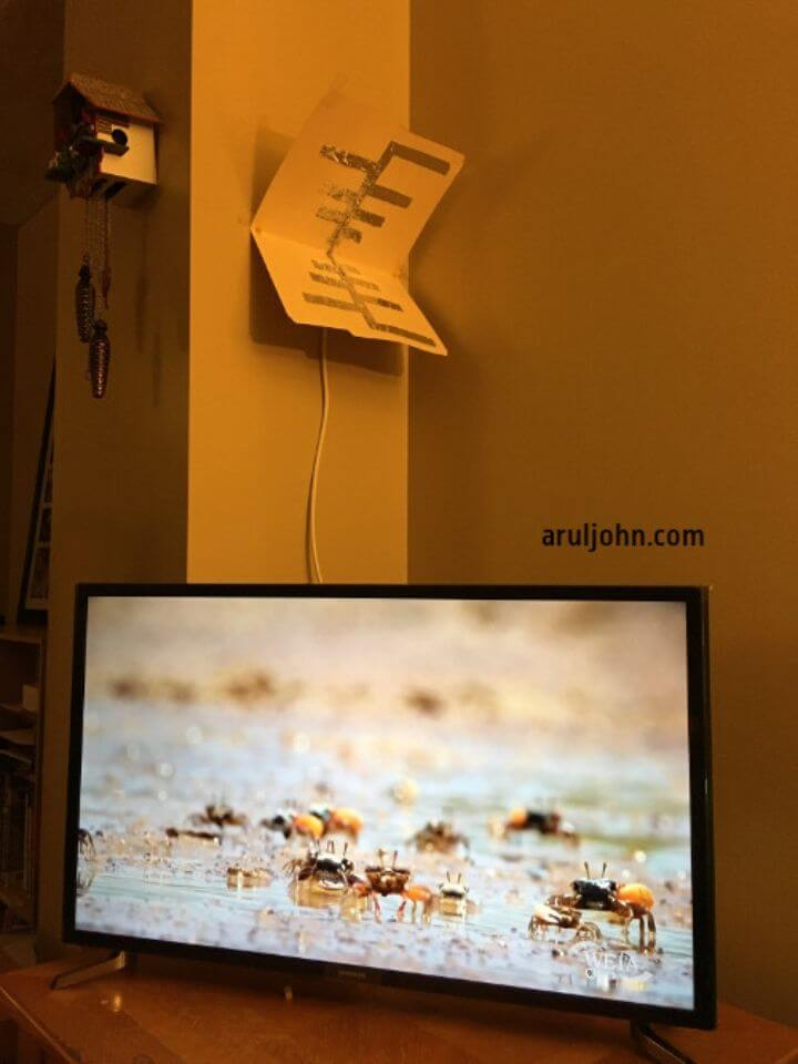 DIY TV Antenna for HD and SD Channels