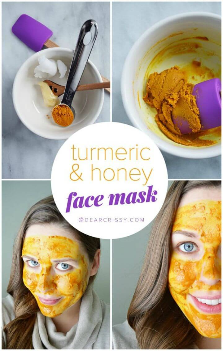 DIY Turmeric and Honey Face Mask
