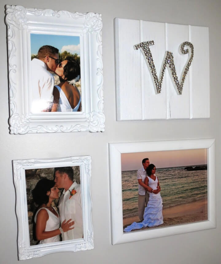 DIY Wedding Gallery Wall