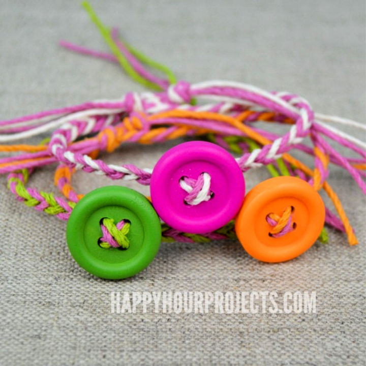 Easy Button Friendship Bracelets