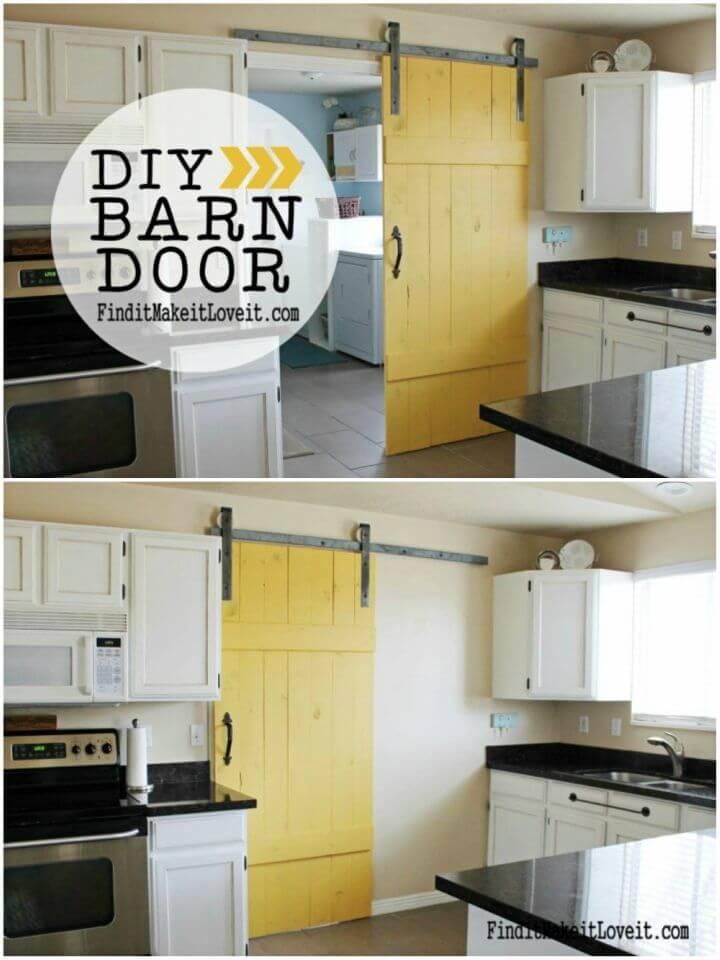 Easy DIY Barn Door