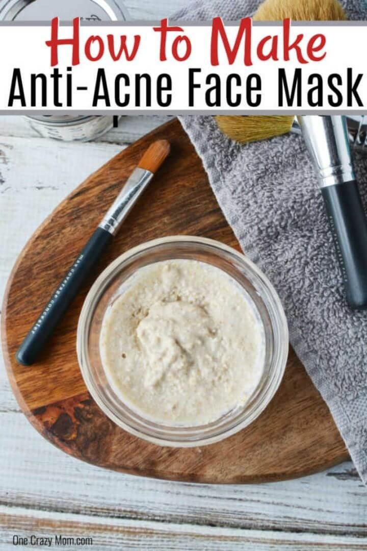 Easy DIY Face Mask for Acne