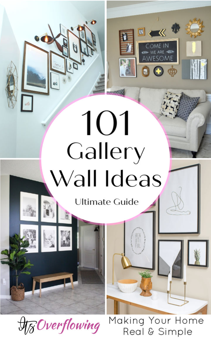 101 Unique Gallery Wall Ideas To Display Your Family Photos