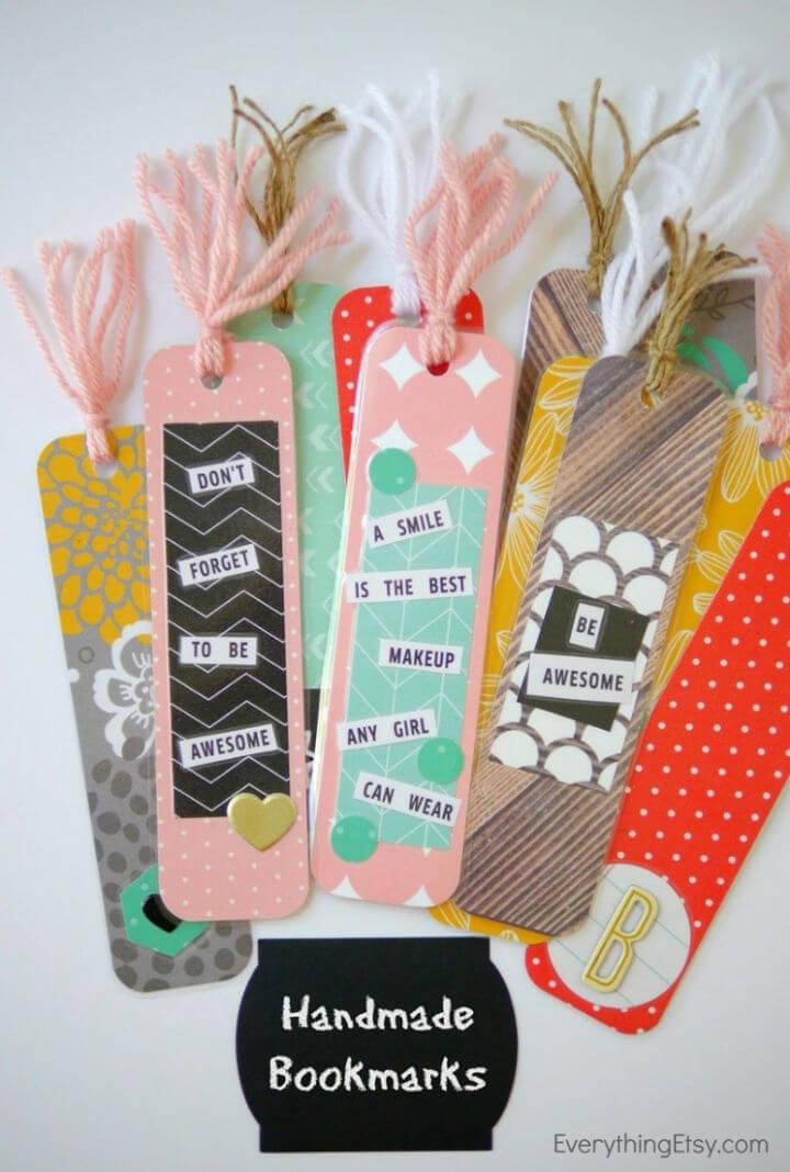 Easy Handmade Bookmarks