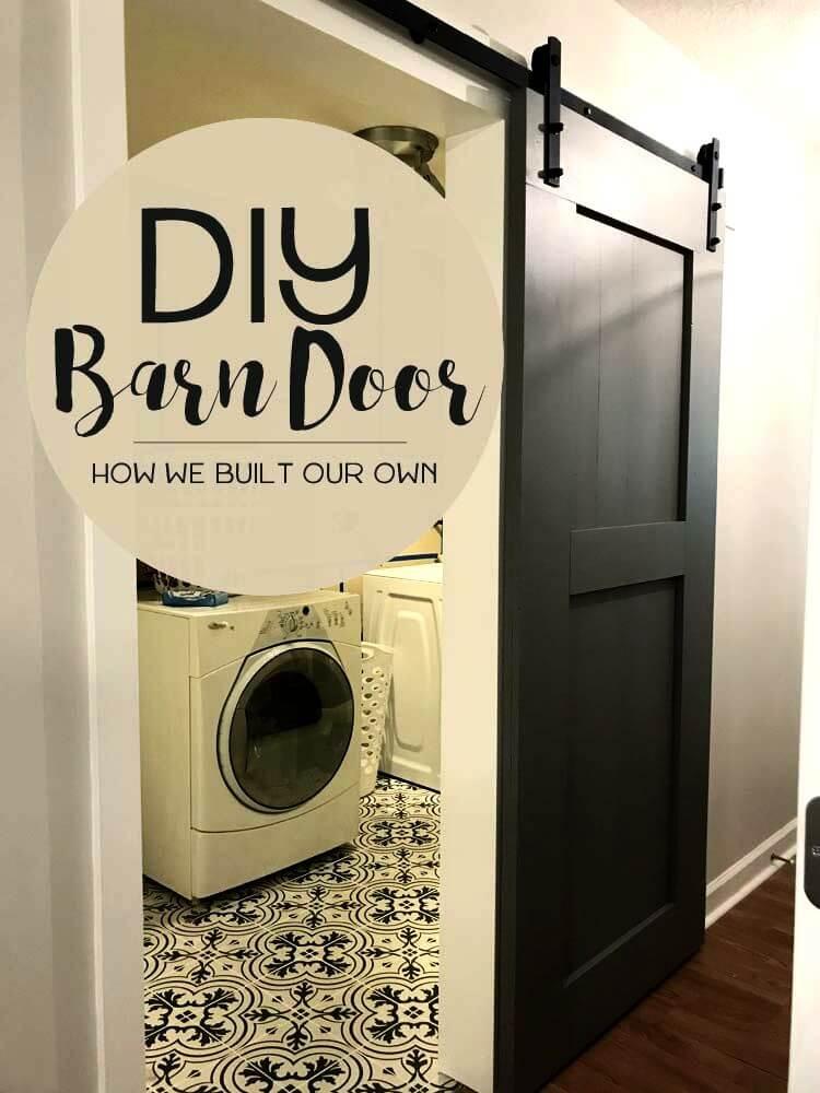 Easy to Make Barn Door