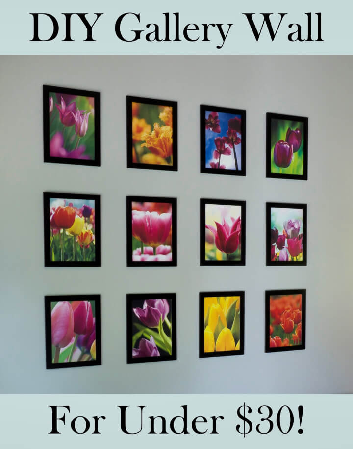 Framed Wall Collage for Under 30