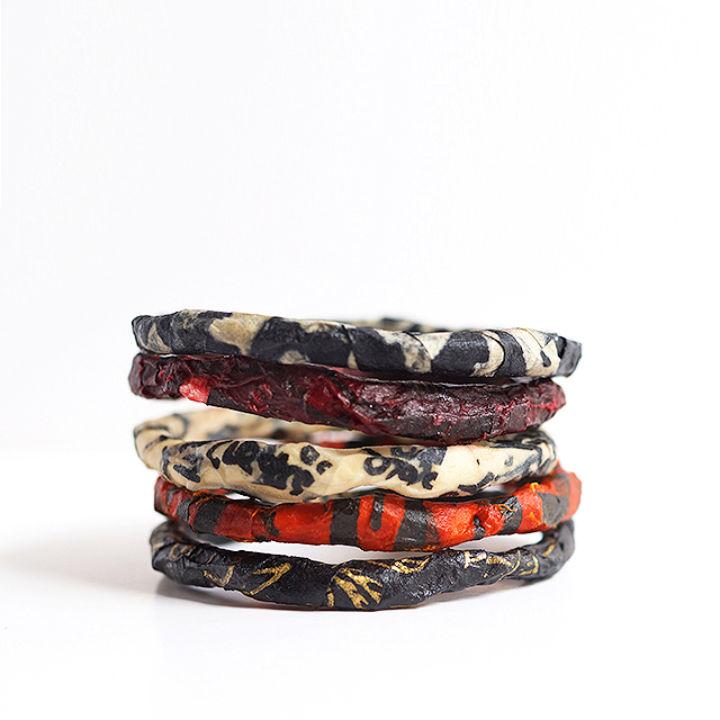 Friendship Paper Bracelets