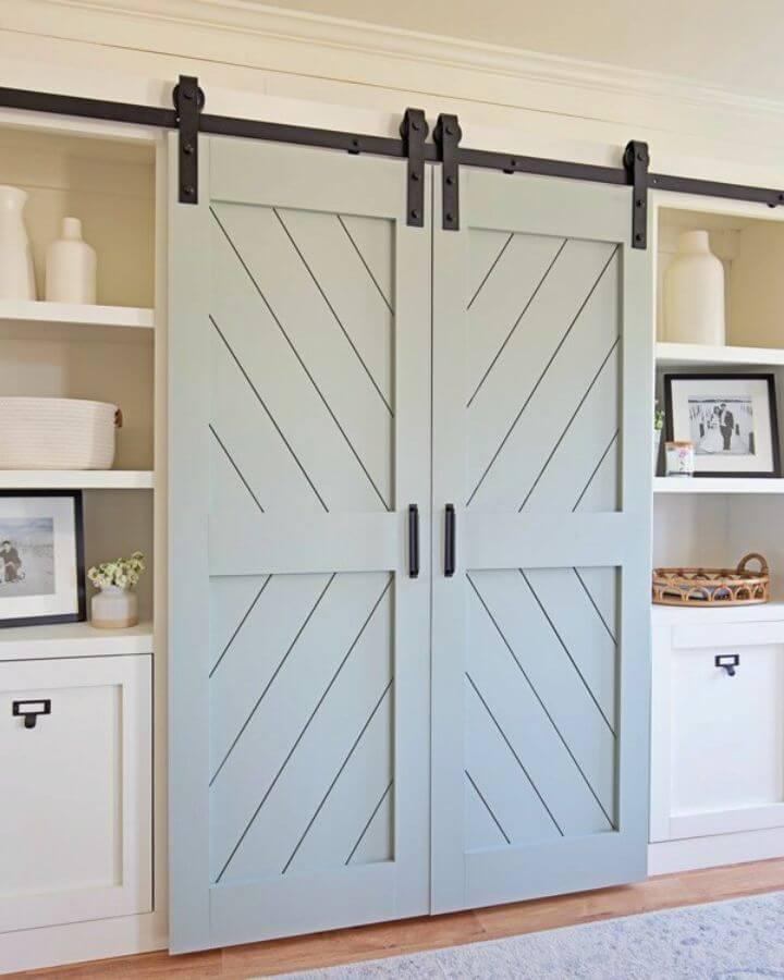 Gorgeous DIY Double Barn Door