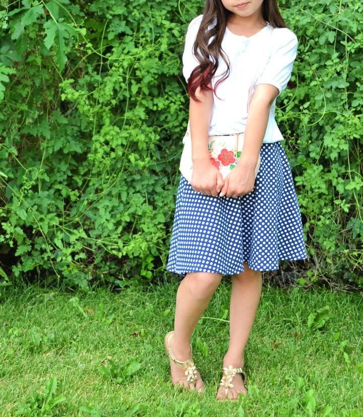 Half Circle Skirt Sewing Pattern