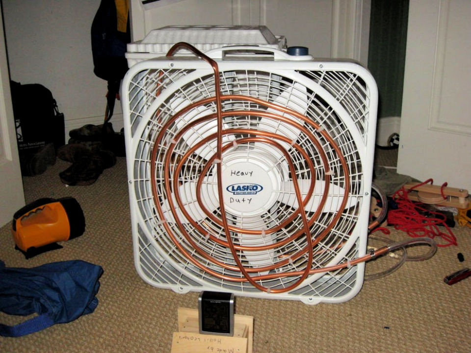 Handmade Air Conditioner