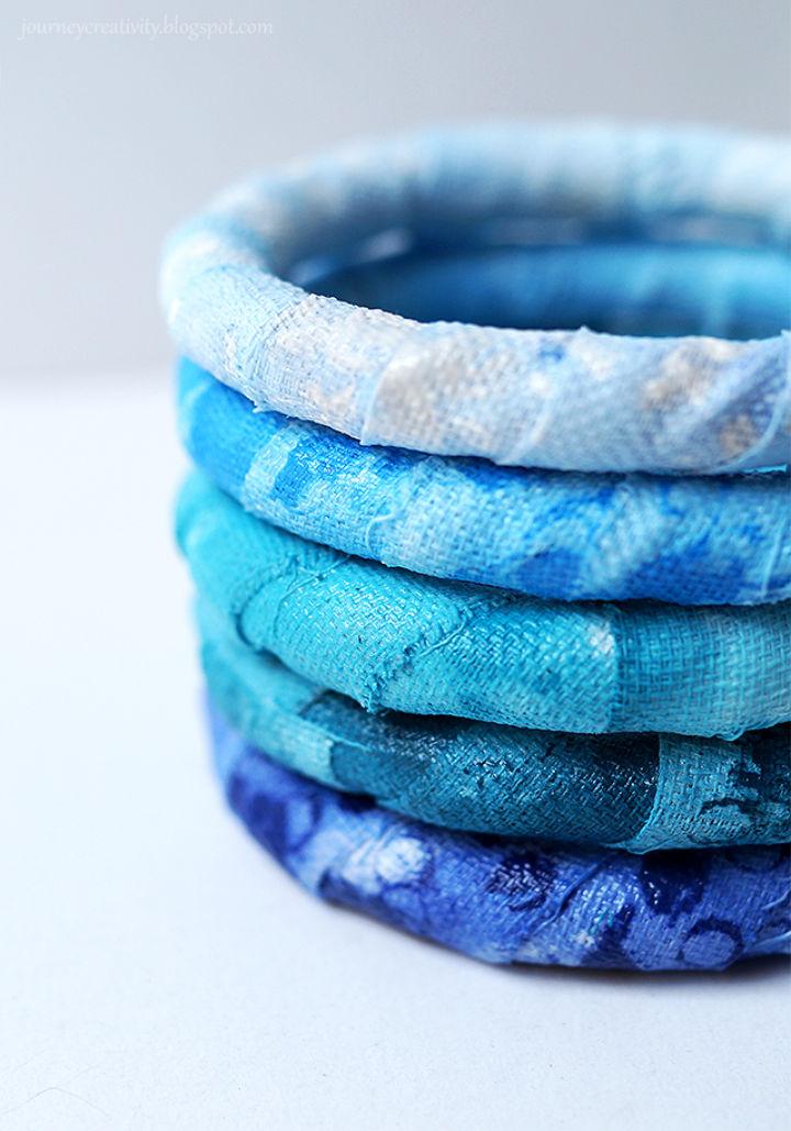 Handmade Fabric Bracelets