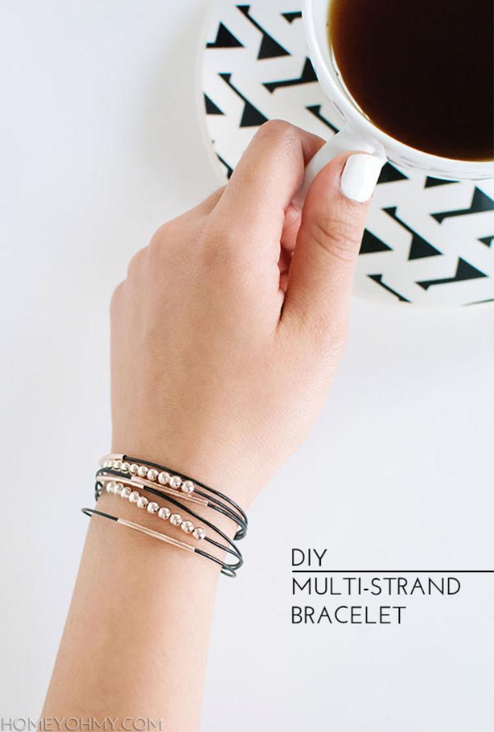 Handmade Multi strand Bracelet