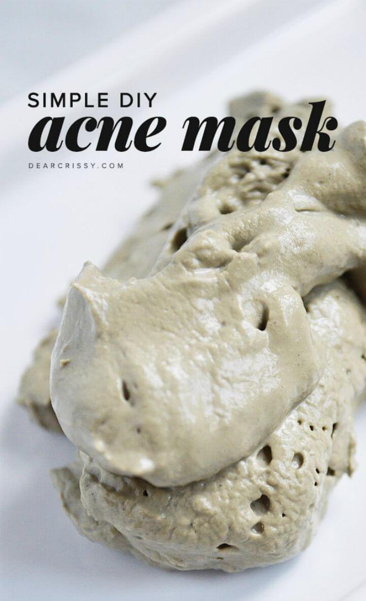 Homemade Acne Mask Recipe
