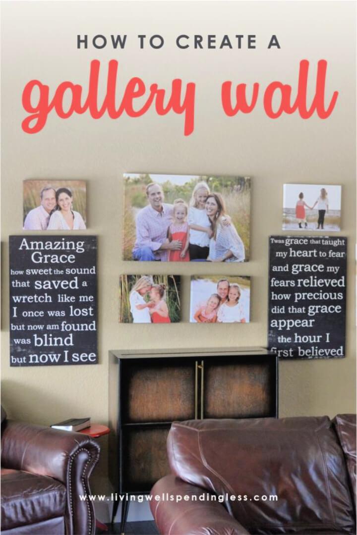 Homemade Gallery Wall