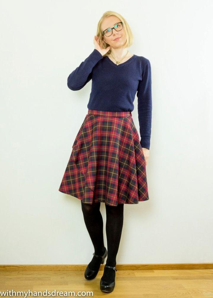 Homemade Sandra Skirt – Free Sewing Pattern
