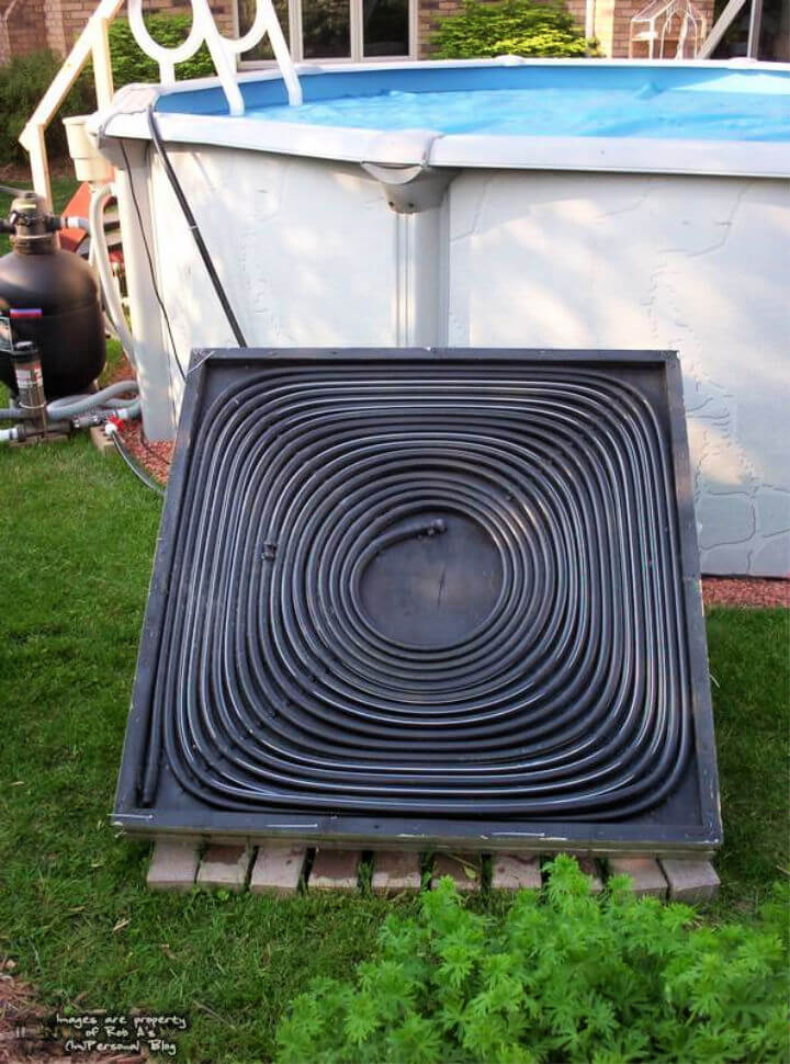 How To Make a Solar Pool Heater