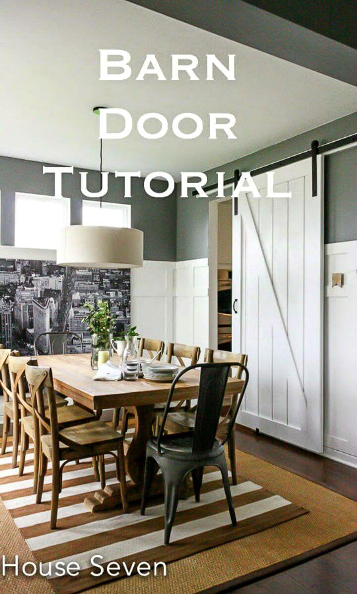 How to Build Barn Door