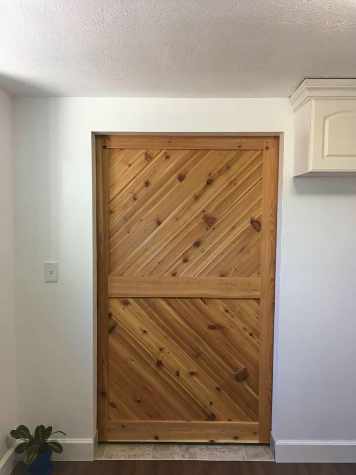 How to Build Cedar Barn Door