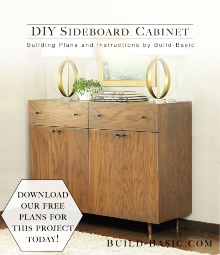 How to Build Sideboard Cabinet