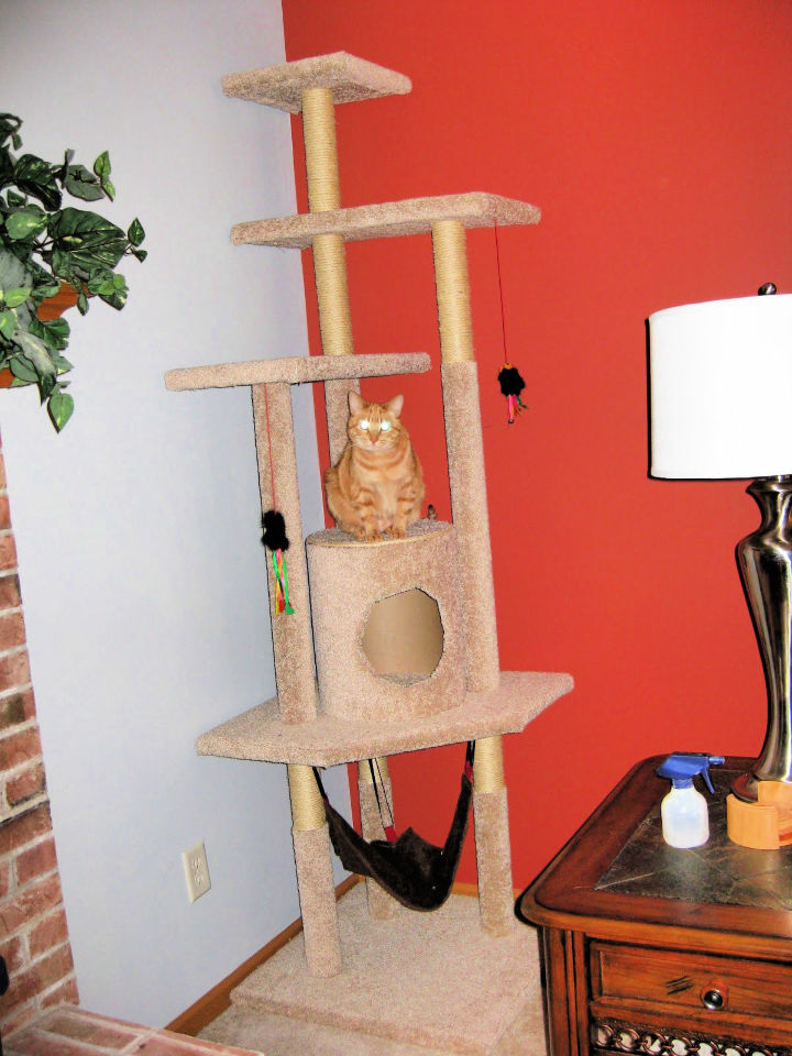 How to Build a Cat Tree