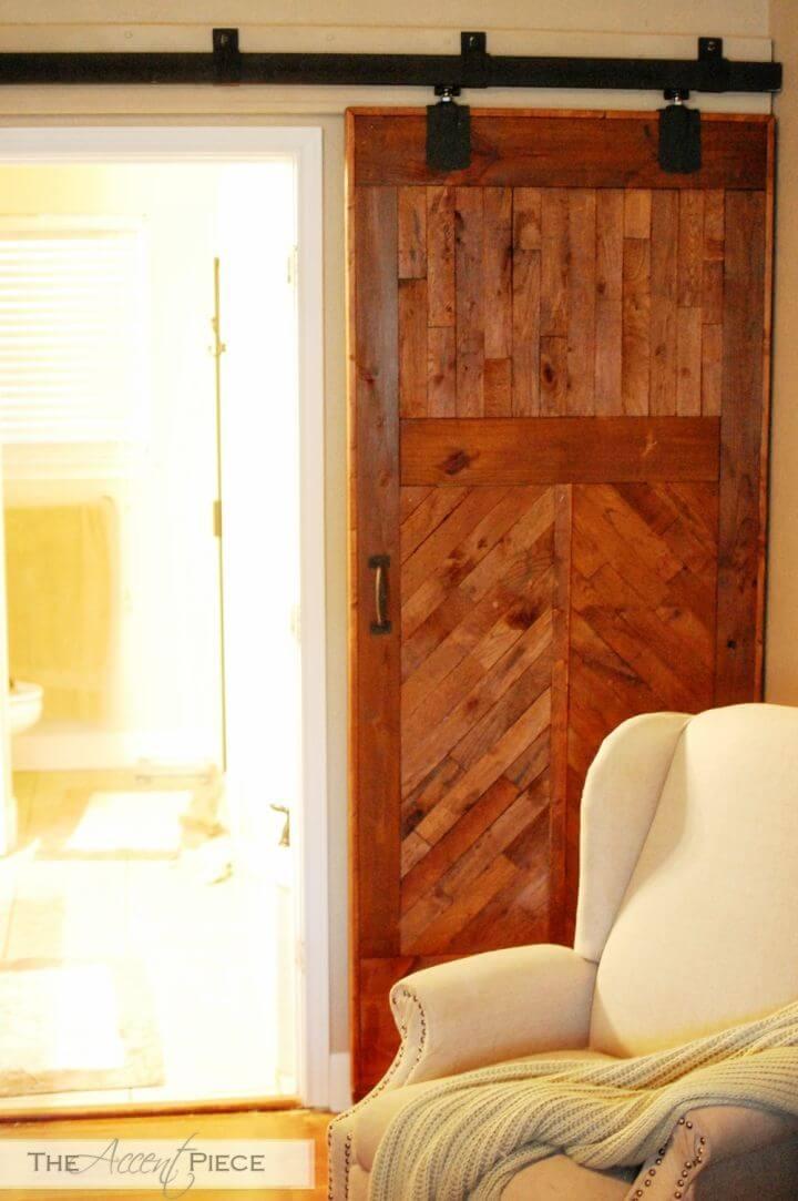 How to DIY Sliding Barn Door
