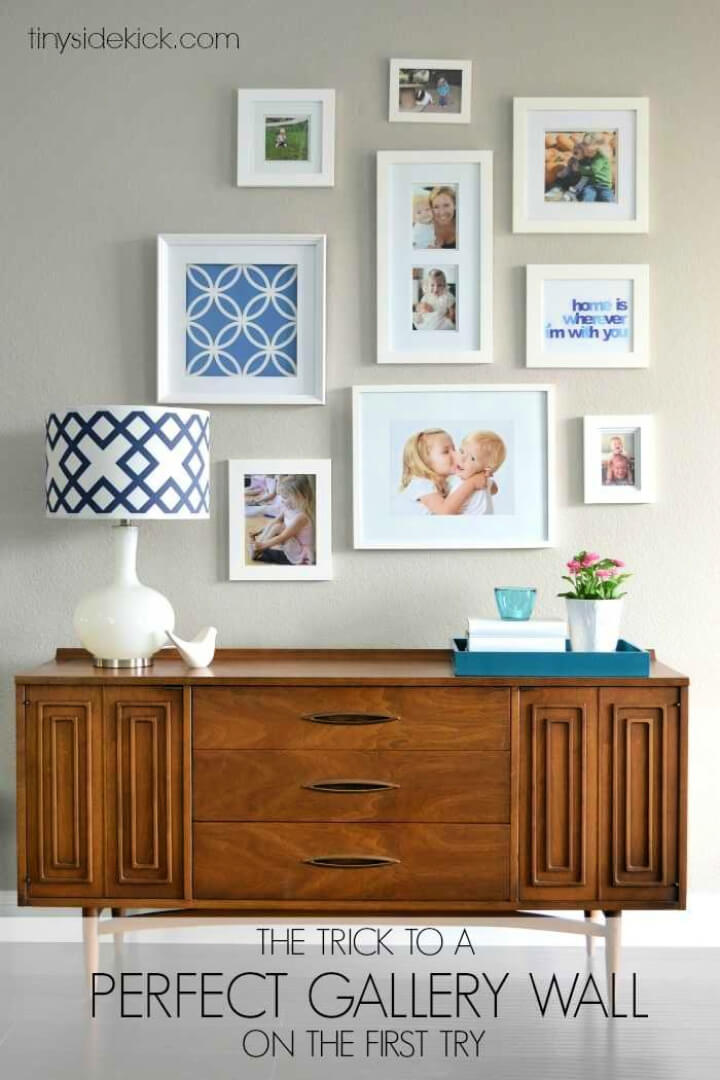 How to Install a Perfect Gallery Wall