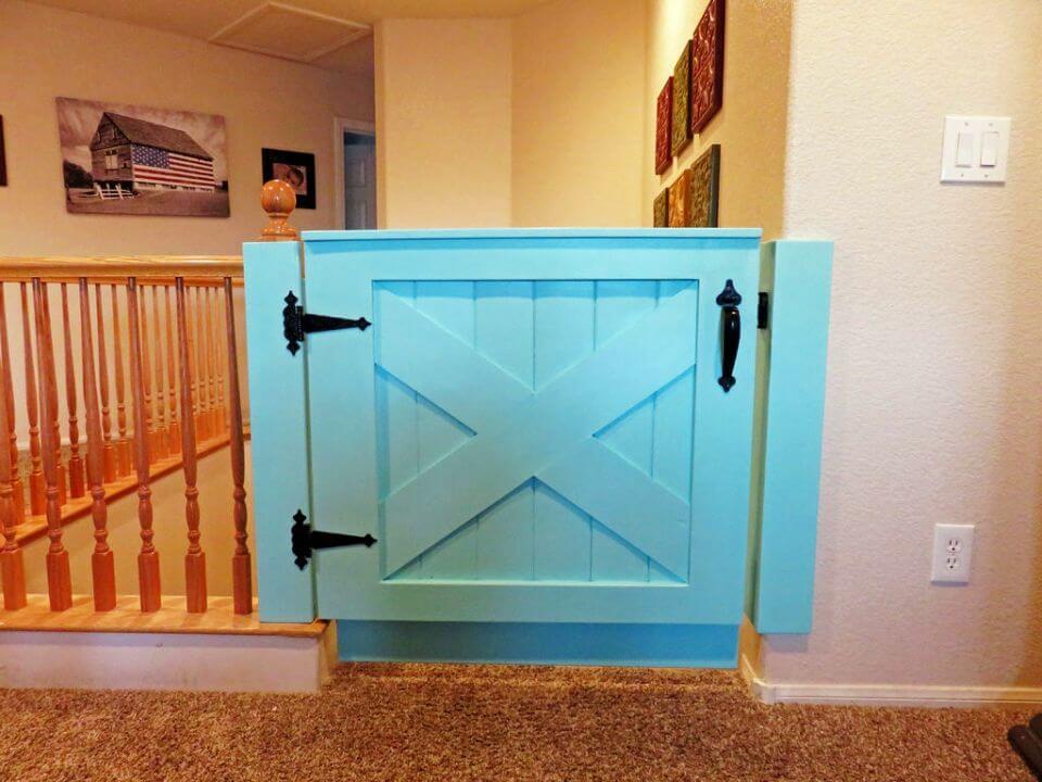 How to Make Barn Door Baby Gate