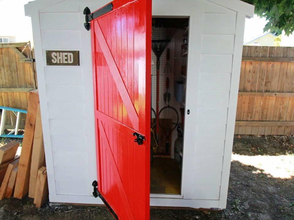 How to Make Barn Style Door