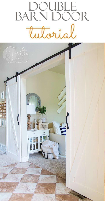 How to Make Double Barn Door