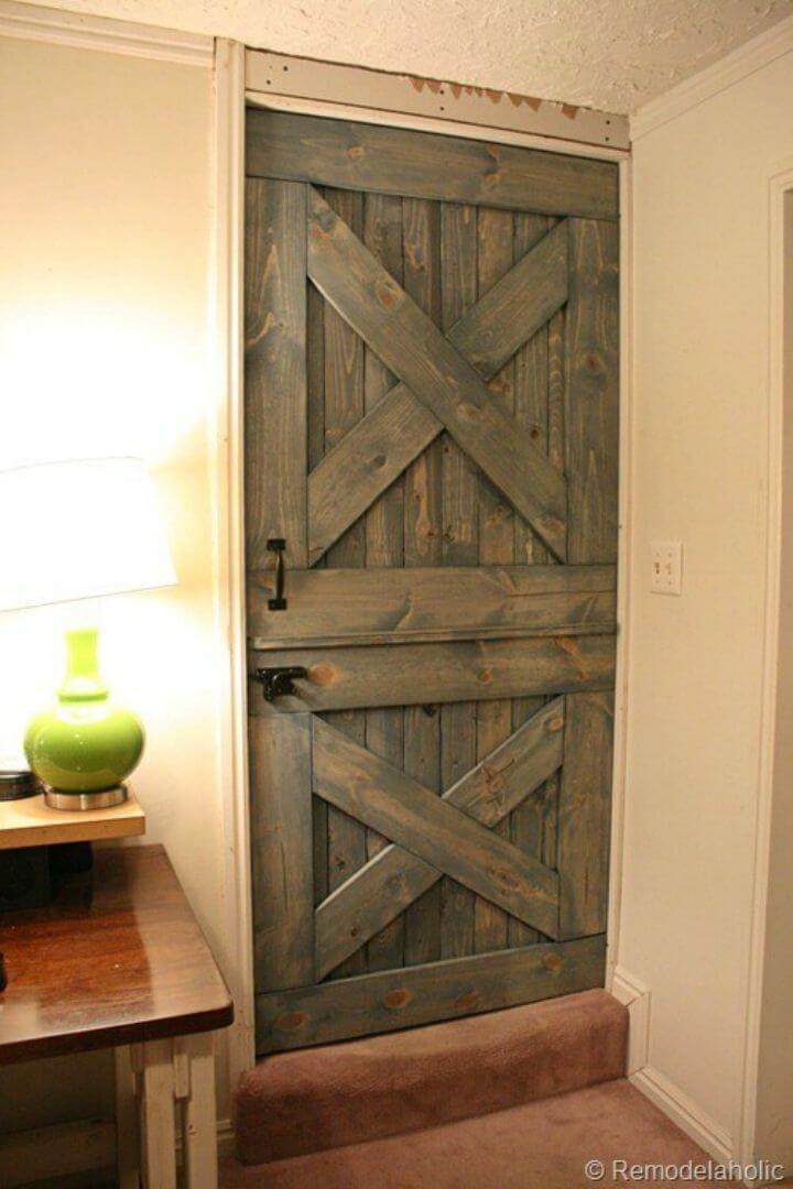 How to Make Dutch Barn Door