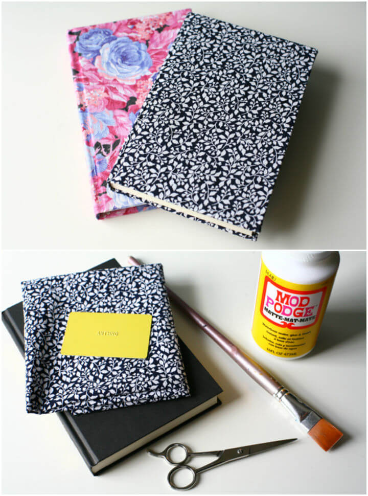 How to Make Fabric Covered Book