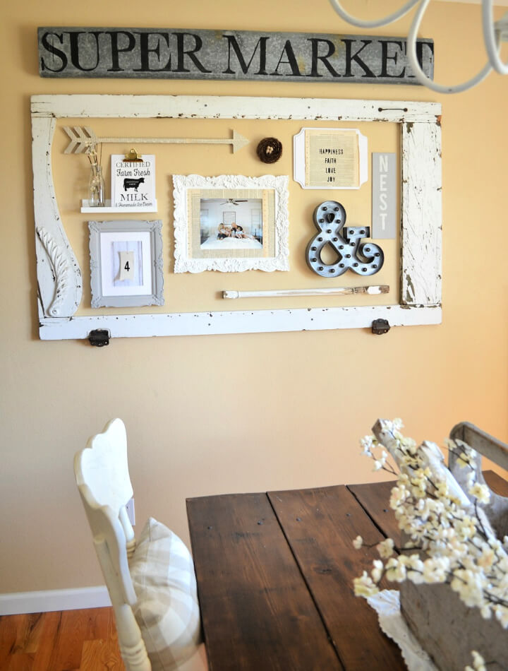 How to Make Farmhouse Gallery Wall