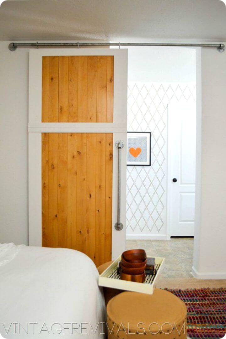 How to Make Sliding Barn Door